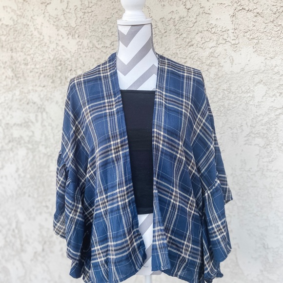Sweaters - BRAND NEW AND WITH TAGS: Checkered Cardigan
